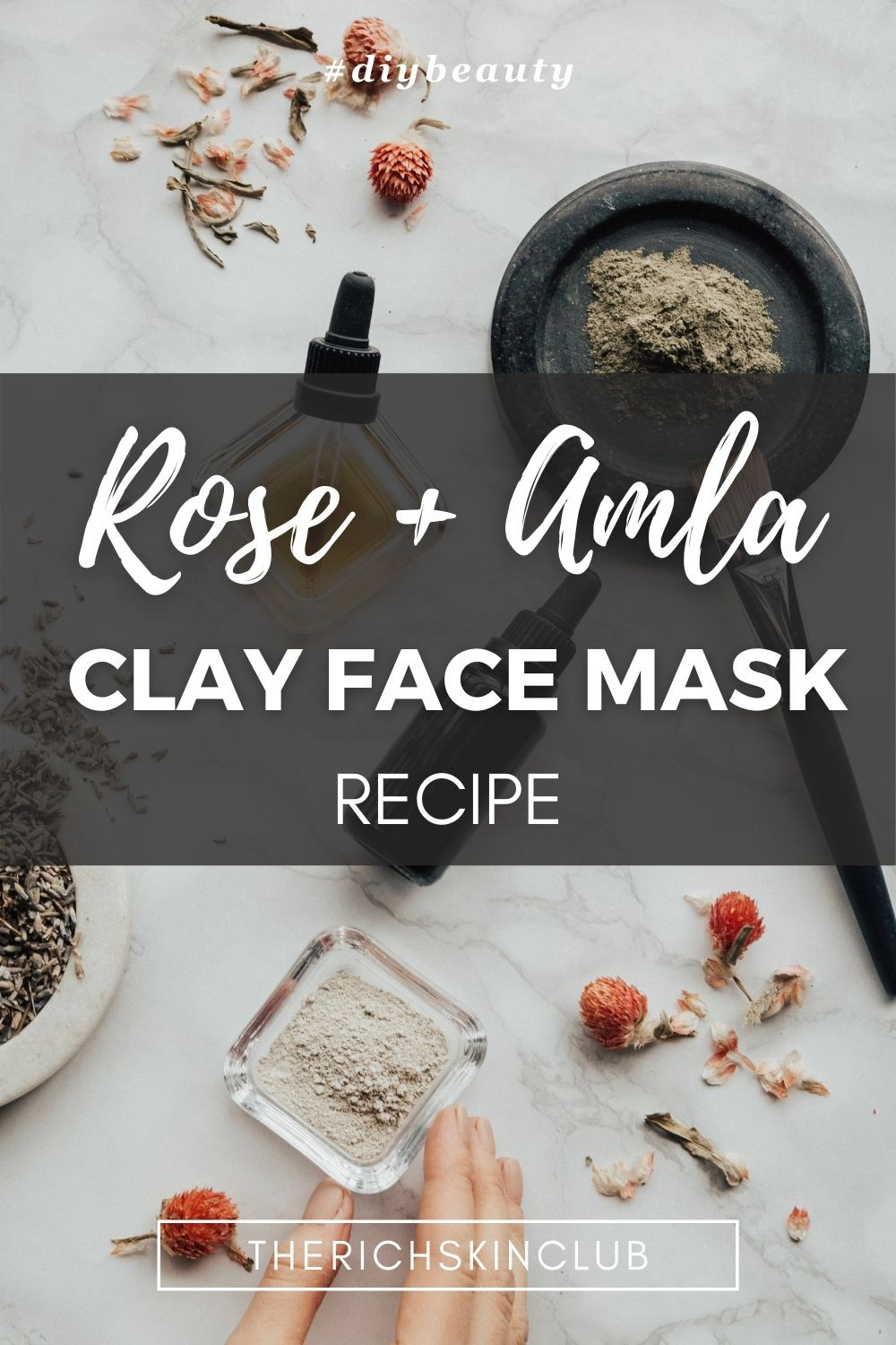 The Amazing Skin Benefits of Rassoul Clay. Click the pin to get all of the facts on rassoul clay, bentonite clay, kaolin clay for detoxing your skin. Rassoul clay has an amazing ability to draw out toxins and impurities from the skin and scalp. Get a DIY clay face mask recipe to add to your weekly facial. #clayfacemaskdiy #diydetoxfacemask #antitoxicantiaging #cleanbeauty