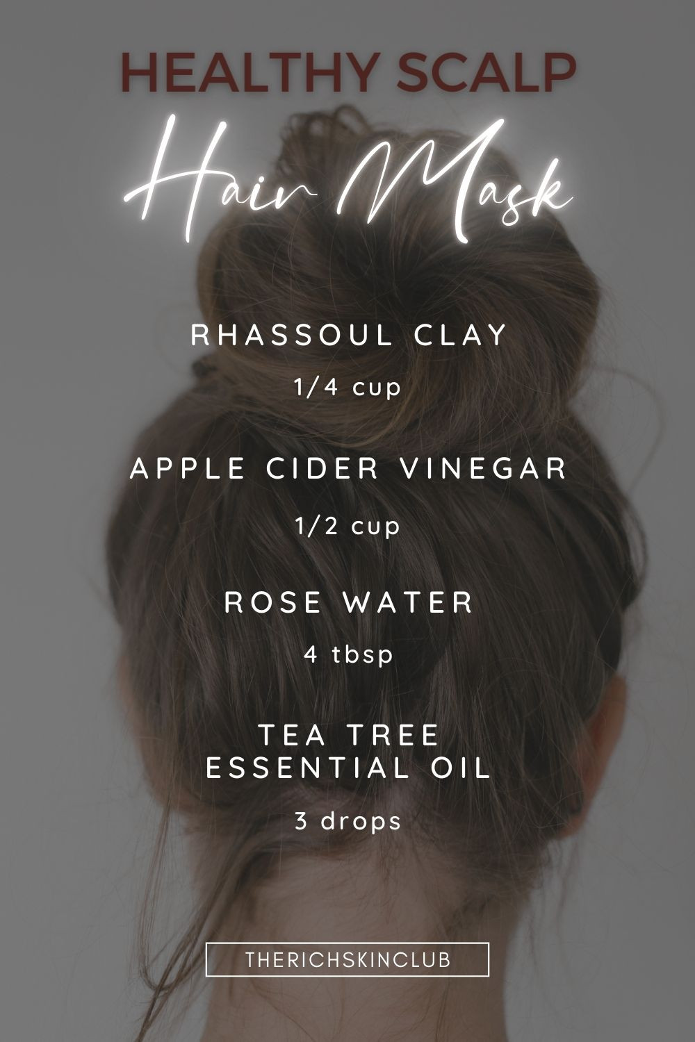 The Amazing Skin Benefits of Rassoul Clay For Hair And Scalp. Click the pin to get all of the facts on rassoul clay, bentonite clay, kaolin clay for detoxing your skin and scalp. Rassoul clay has an amazing ability to draw out toxins and impurities from the skin and scalp. Get a DIY clay hair mask recipe to add to your monthly hair treatment. #cleanbeauty #clayhairmaskdiy #hairandscalpmask #antitoxicantiaging