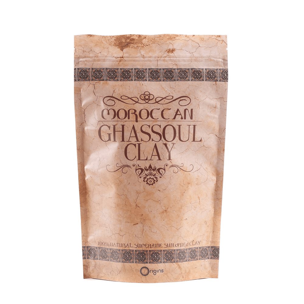 Moroccan Ghassoul Clay detox face and scalp mask