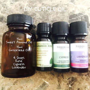 DIY (Organic) Cuticle Oil For Strong, Healthy Nails