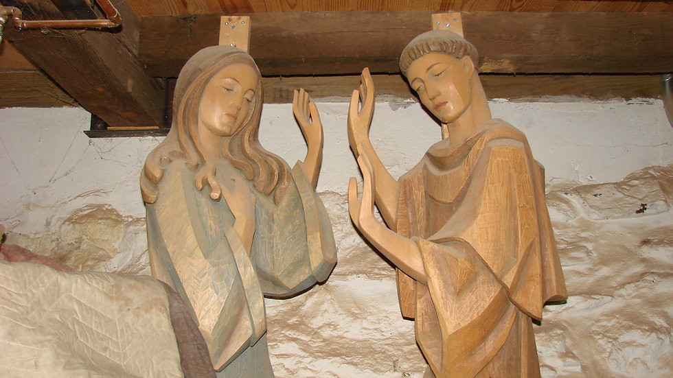 Hand Carved Statues