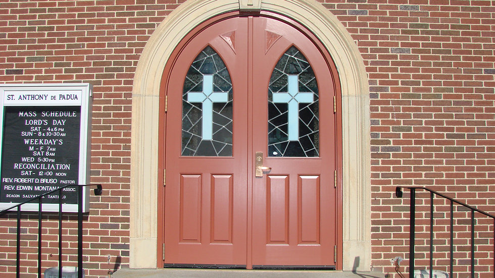 Mahogany Entrance Doors