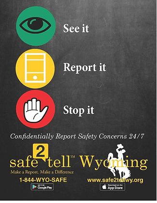 See it, report it, stop it! - Elementary