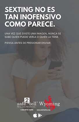 Sexting is not as harmless - Spanish