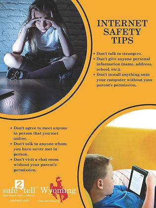 Internet safety tips - Elementary