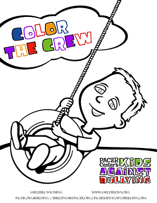 Color the Crew Antibullying Coloring Book