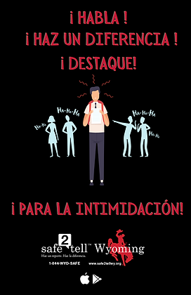 Speak up + Make a difference - Spanish