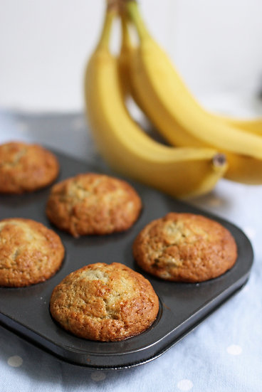 1 Dozen Banana Nut Muffins