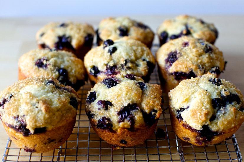 1 Dozen Blueberry Muffins