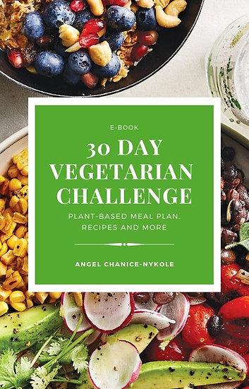 30 Day Vegetarian Ebook
