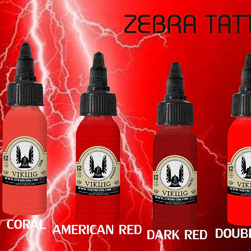 SET  ROJOS - VIKING INK
