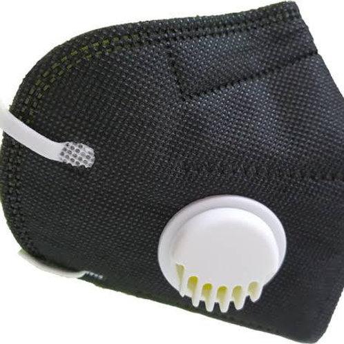 Cubre bocas KN95 negro | 10 piezas