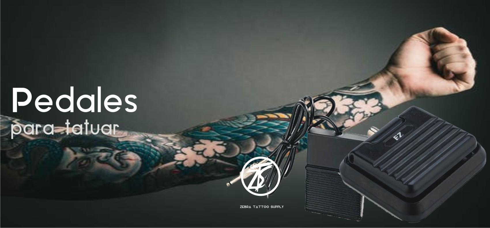 pedales para tatuar