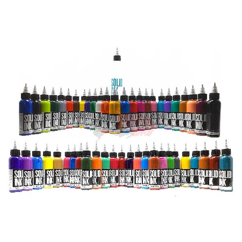 SOLID INK - 50 COLORES