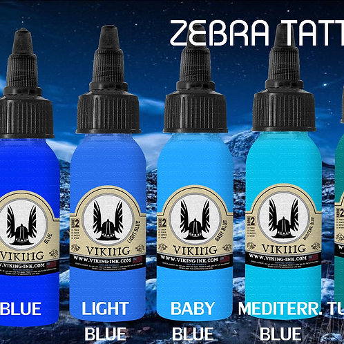 SET  AZULES - VIKING INK