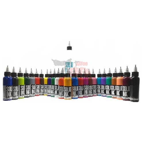 SOLID INK - 25 COLORES