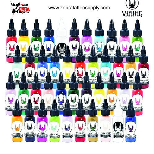 SET COMPLETO 43 COLORES - VIKING INNK