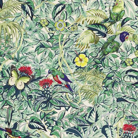 tessuto uccelli verdi.jpeg