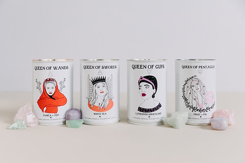 Tin Can*dles- Crystal Candle: THE QUEENS