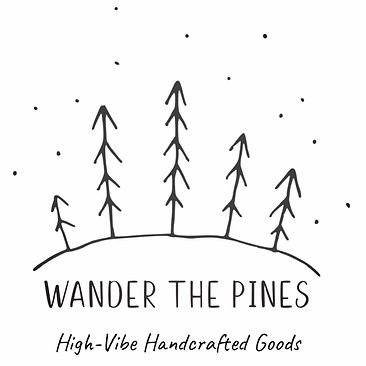 Wander the Pines Logo