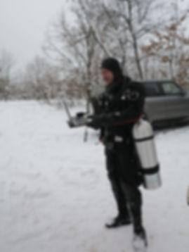 курс PADI сухой костюм Киев, обучение дайвингу