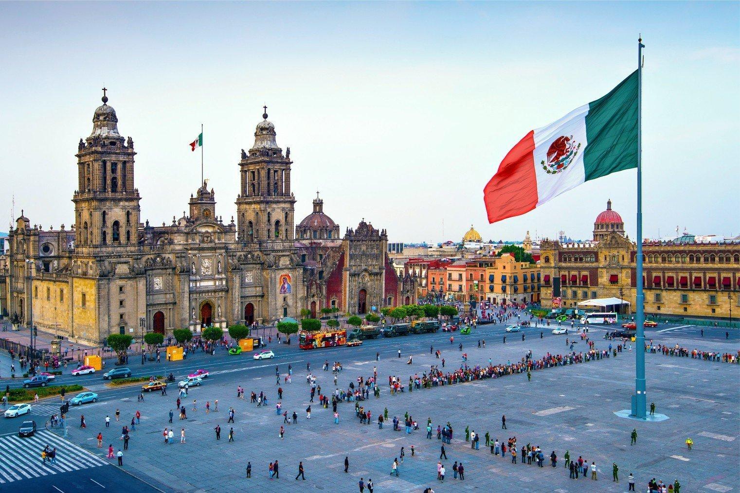 Zocalo-Mexico-City