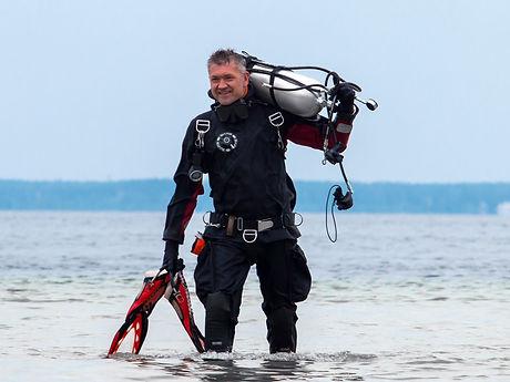 Владимир Бут дайвинг