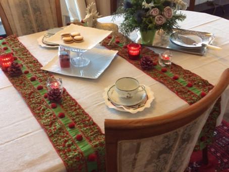 簡単クリスマステーブルコーデネート