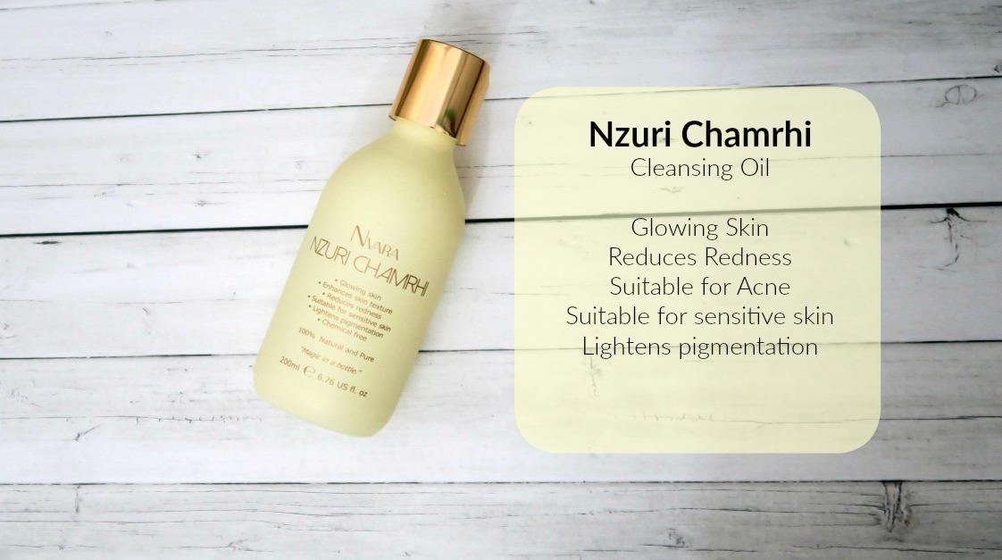 Nzuri chamrhi cleansing oil