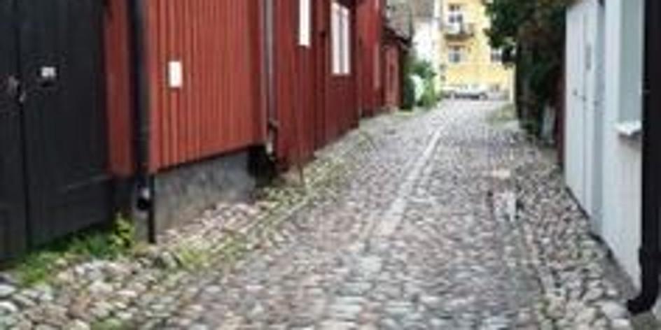 Sista deckarvandringen i Strängnäs för i år.