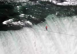 Jesus, Help Us To Walk a Gospel Tightrope Over Treacherous Waters! (Prayer Journal 59)