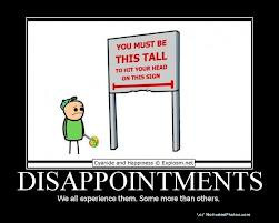 WHEN UNMET EXPECTATIONS LEAD TO DISAPPOINTMENT
