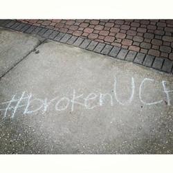 It Is Broken UCF Chalking.jpg