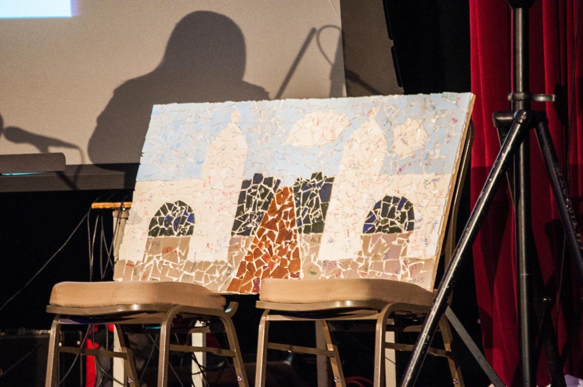 It is Broken mosaic