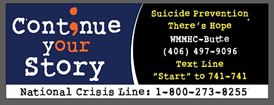 Suicide prevention crisis lines