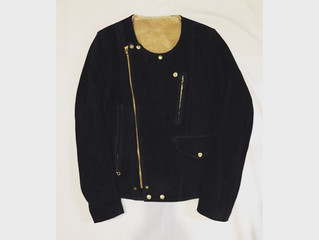 Anachronorm/SUEDE BOA RIDERS JACKET