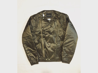 Anachronorm/QUILTED RIP STOP NYLON RIDERS JACKET