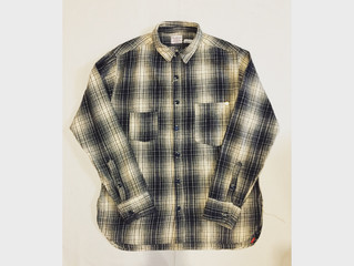 Anachronorm/Ombre plaid work shirt入荷です。