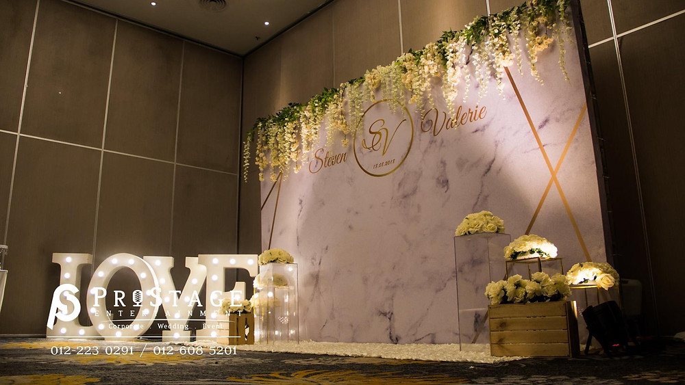 Marble Theme Photo Booth