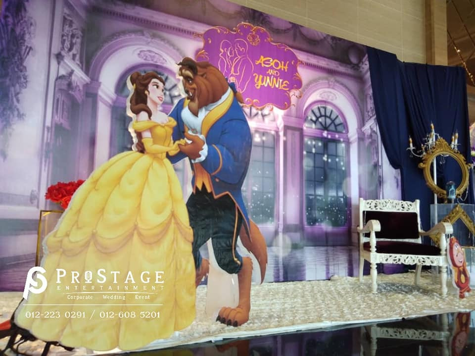 Beauty and the Beast Photobooth