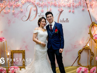 Marble Themed Photobooth + Professional Live Band + Sound System + Lighting System + Instant Print