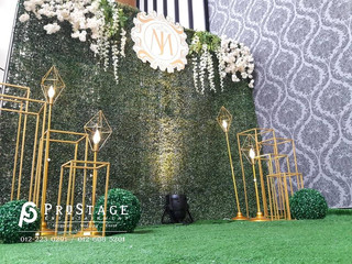 Garden Theme Wedding Decoration