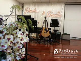Photobooth + Church Decoration + Walkway + Stage Backdrop + Professional Photography