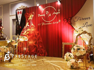 Hall Decoration + Sound System + Lighting System + Professional Live Band + Professional Emcee + Can
