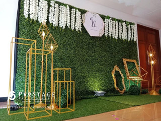 Garden Themed Photobooth + Professional Videography & Photography
