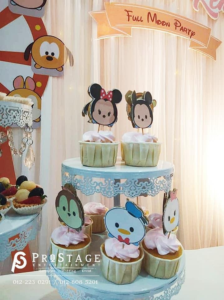 Tsum Tsum Cup cake