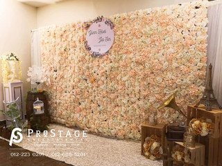 Flower Theme Photobooth + Professional Live Band + Emcee + Sound System & Lighting System + Inst
