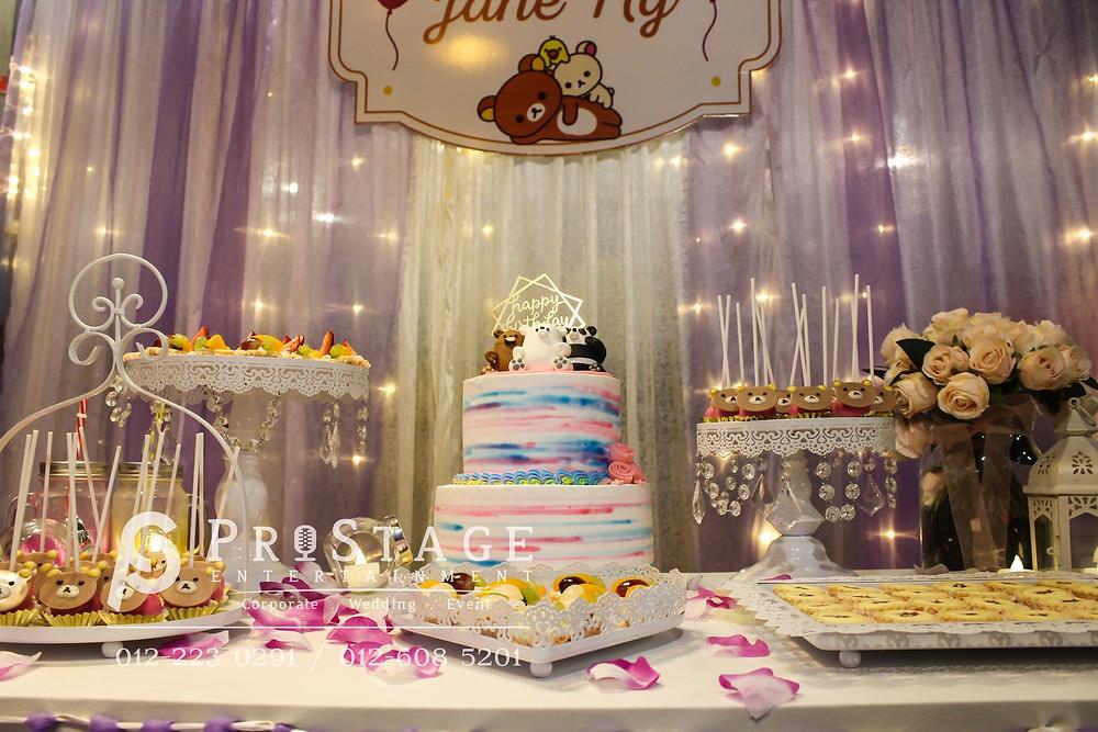 Candy Bar Decoration