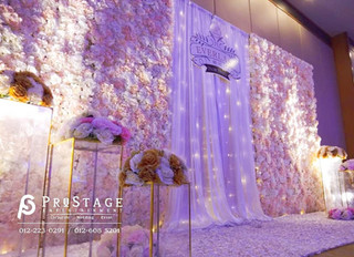 Hall Decoration + Sound System + Lighting System + Instant Print Photobooth