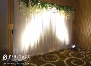 Wedding Anniversary + Hall Decoration + Sound System